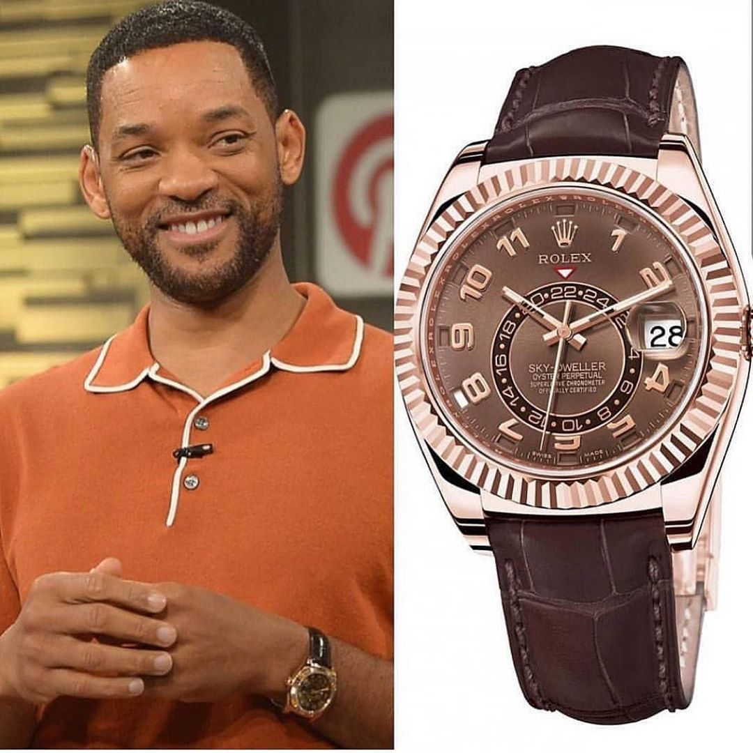 Will Smith watches